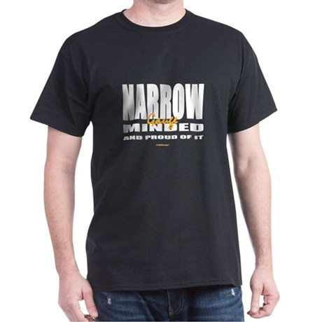 TrainTees Narrow(Gauge)Minded Dark T-Shirt