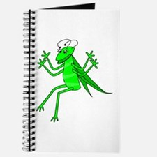 Cute Green Grasshopper Journal