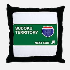 Sudoku Territory Throw Pillow