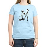 Animals cats Women's Light T-Shirt