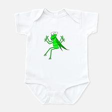 Cute Green Grasshopper Infant Creeper