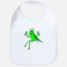 Cute Green Grasshopper Bib