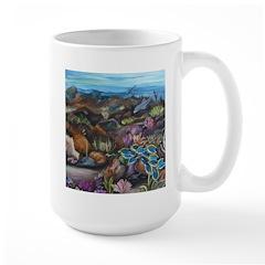 Tropical sea #3 surgeonfish Large Mug