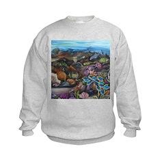 Tropical sea #3 surgeonfish Sweatshirt