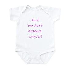 Cute Ovarian cancer patients Infant Bodysuit