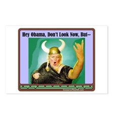 """""""The Fat Lady Is Singing"""" Postcards (Package of 8)"""