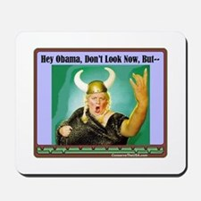 """""""The Fat Lady Is Singing"""" Mousepad"""