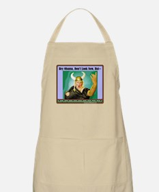 """The Fat Lady Is Singing"" BBQ Apron"
