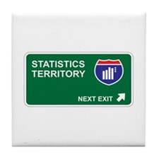 Statistics Territory Tile Coaster