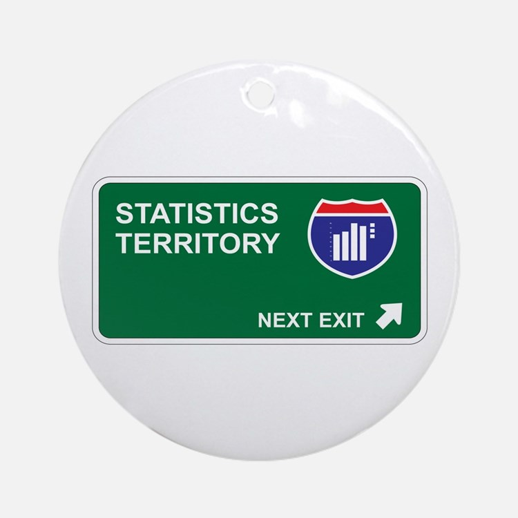 Statistics Territory Ornament (Round)
