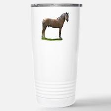 """Finnhorse 2"" Stainless Steel Travel Mug"