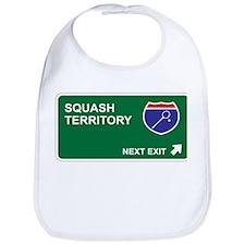 Squash Territory Bib