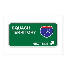 Squash Territory Postcards (Package of 8)