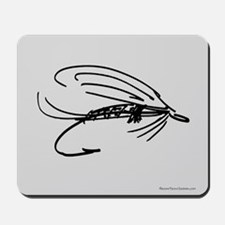 Wet Fly Lure Mousepad