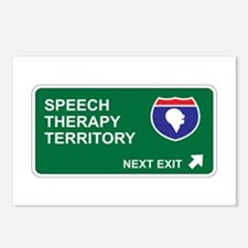 Speech, Therapy Territory Postcards (Package of 8)
