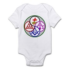 York Rite Infant Bodysuit