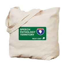 Speech, Pathology Territory Tote Bag