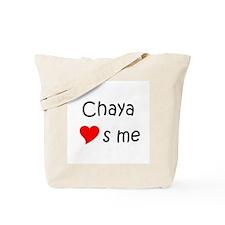 Unique Chaya Tote Bag