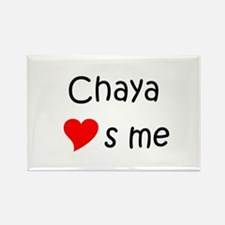 Cute Chaya Rectangle Magnet