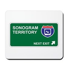 Sonogram Territory Mousepad