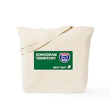 Sonogram Territory Tote Bag