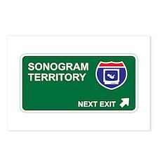 Sonogram Territory Postcards (Package of 8)