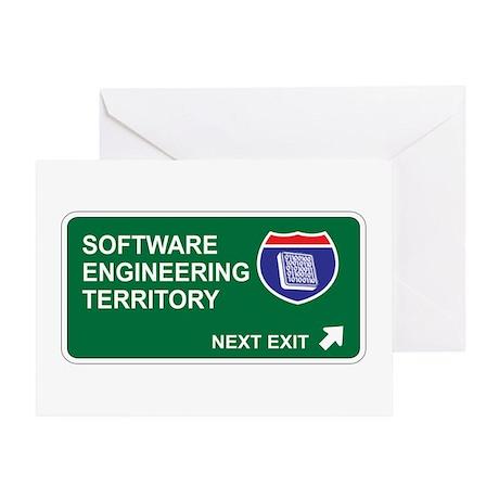 Software, Engineering Territory Greeting Card