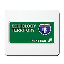 Sociology Territory Mousepad
