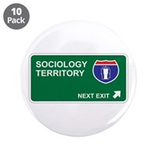 """Sociology Territory 3.5"""" Button (10 pack)"""
