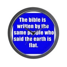 bible Wall Clock