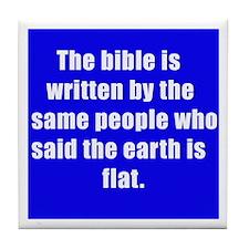 bible Tile Coaster
