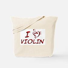 I LUV Violin! Tote Bag