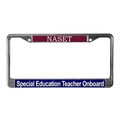 Special Education Teacher - License Plate Frame