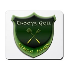 Daddys Grill Mousepad