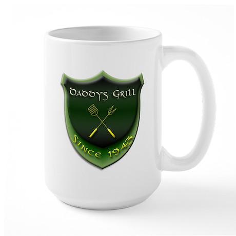 Daddys Grill Large Mug
