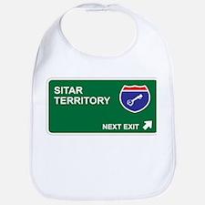 Sitar Territory Bib