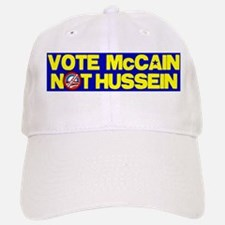 McCain not Hussein Baseball Baseball Cap