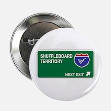 """Shuffleboard Territory 2.25"""" Button"""