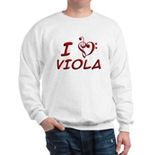 I LUV Viola Sweatshirt