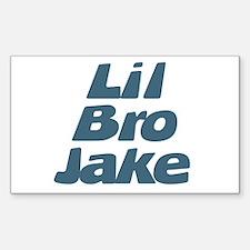 Lil Bro Jake Rectangle Decal