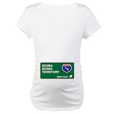Scuba, Diving Territory Shirt