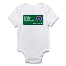 Scuba, Diving Territory Infant Bodysuit