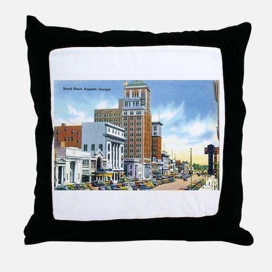 Augusta Georgia GA Throw Pillow