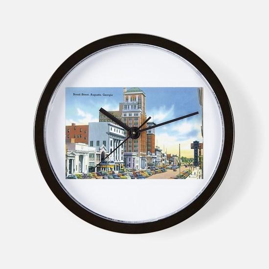 Augusta Georgia GA Wall Clock