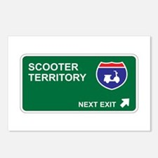 Scooter Territory Postcards (Package of 8)