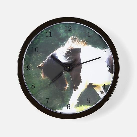 Gypsy Vanner Wall Clock