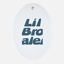 Lil Bro Jalen Oval Ornament