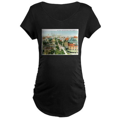 Savannah Georgia GA Maternity Dark T-Shirt