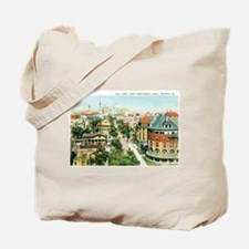Savannah Georgia GA Tote Bag
