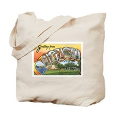 Augusta Georgia GA Tote Bag